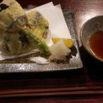 賀茂なすの天ぷら♪肉厚です!!