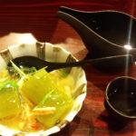 一緒に頼んだ日本酒「会津の中将」