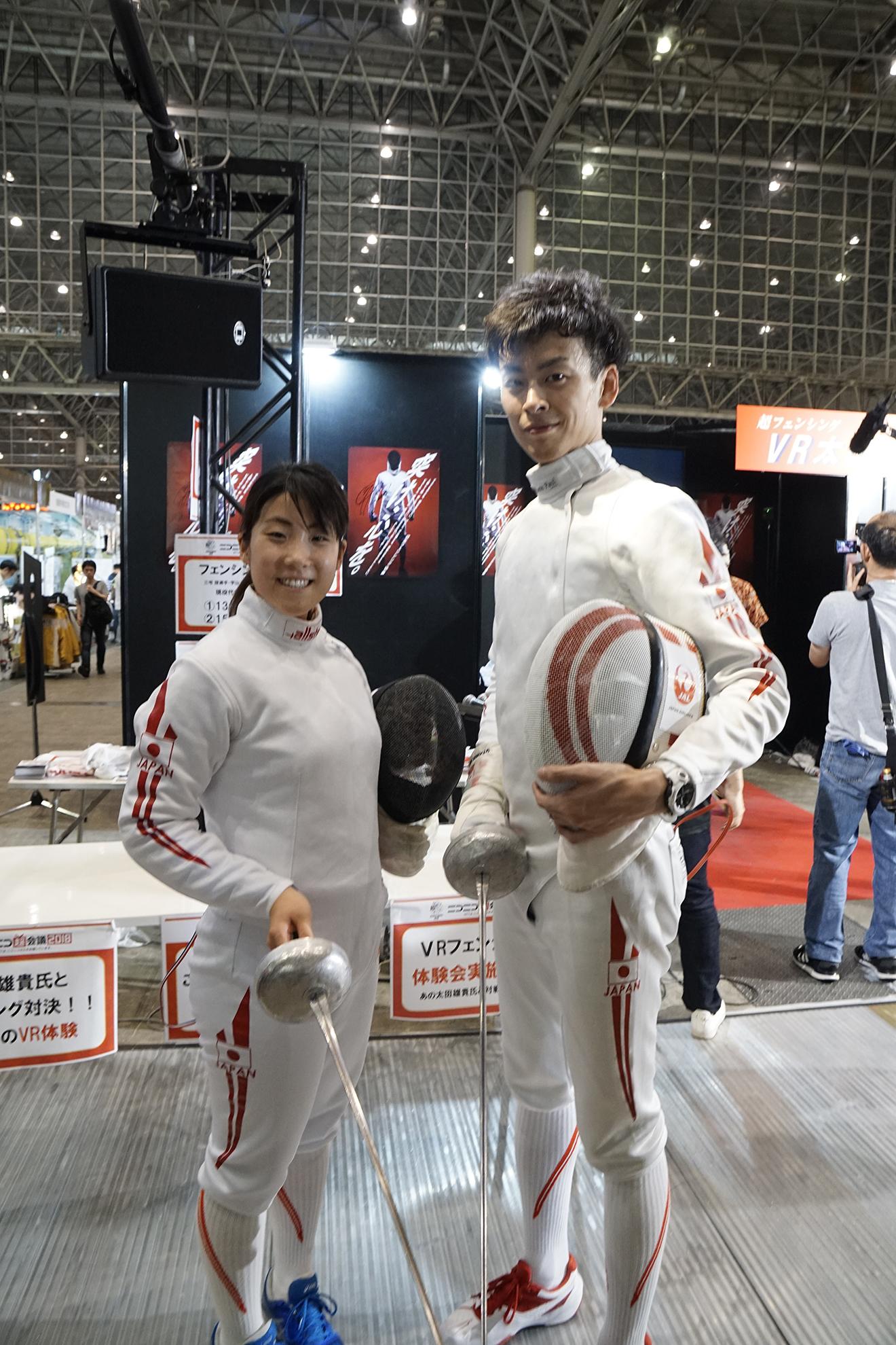 超フェンシング2日目レポート!【ニコニコ超会議2018 Report】20180508