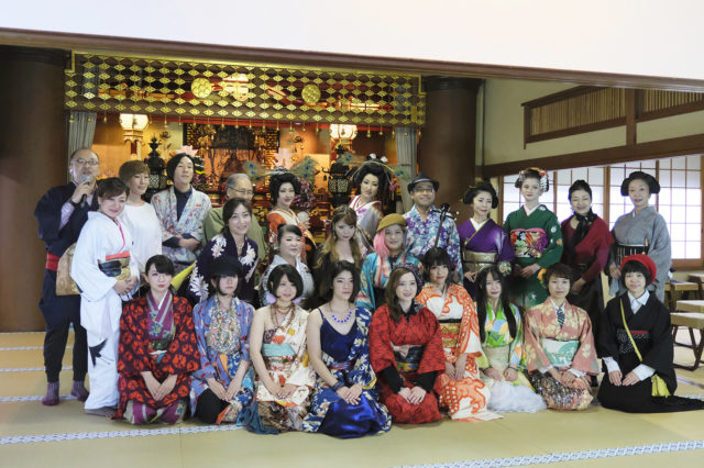 20181022【Event Reports/Traditional Cultures】『北斎を観る・着物を着る・日本を知る』北斎×着物 お寺でフェス2018 Report!