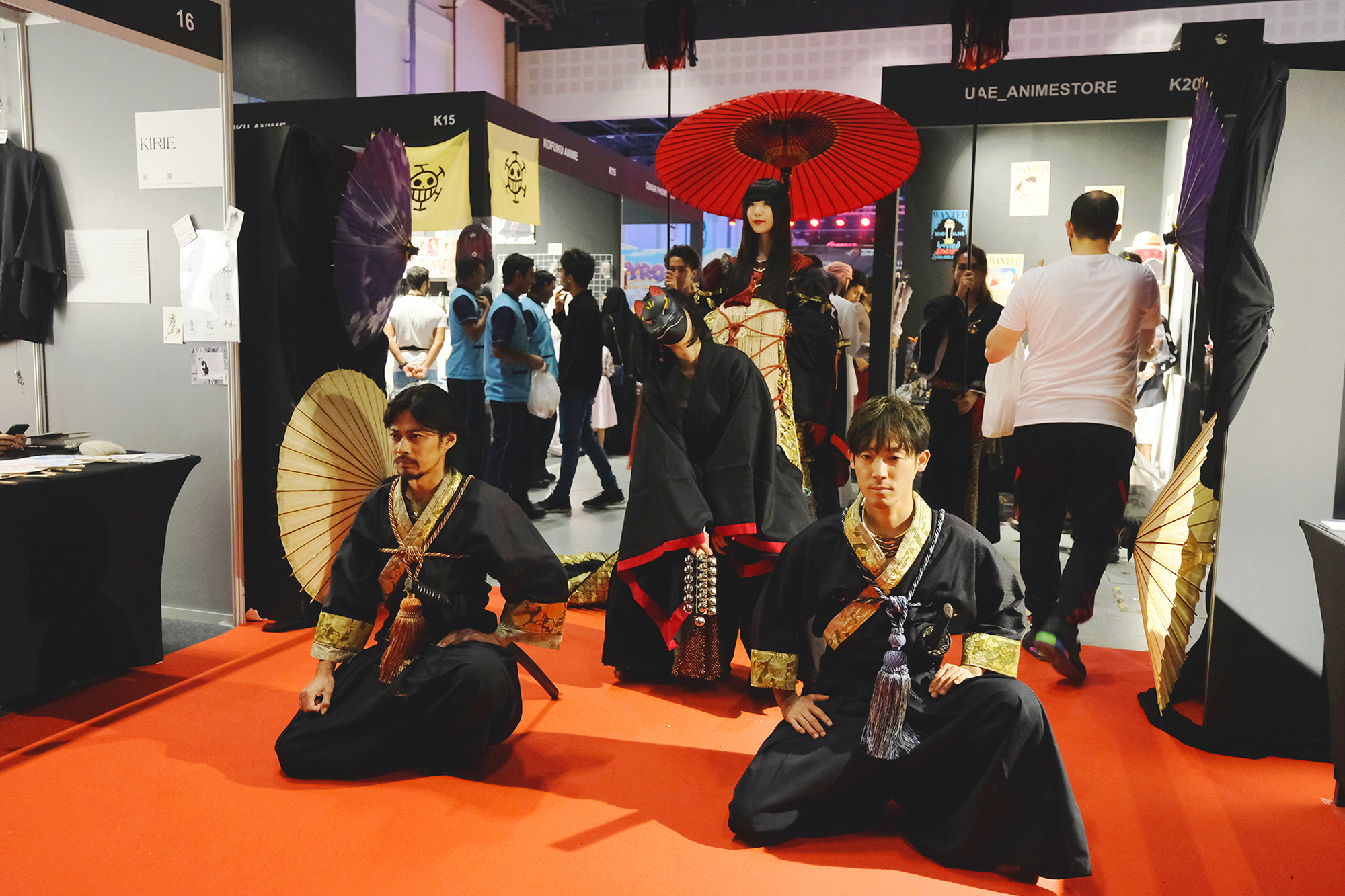 """20181105【Middle East Games Con/Traditional Cultures】Middle East Games Con 2018 In Abu Dhabi """"MIYABI"""" 『KIRIE』Stage Report!"""