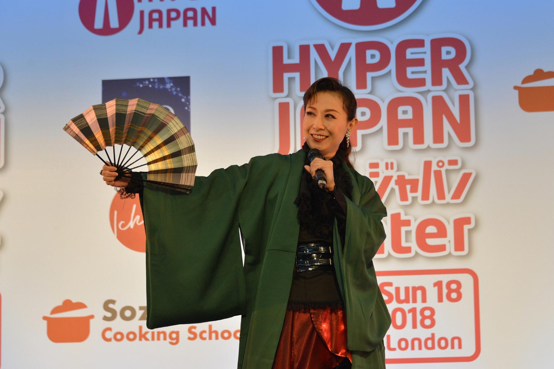 20181127 [HYPER JAPAN] 『HYPER JAPAN 2018 WINTER』元宝塚歌劇団花組・真丘奈央Stage Report!