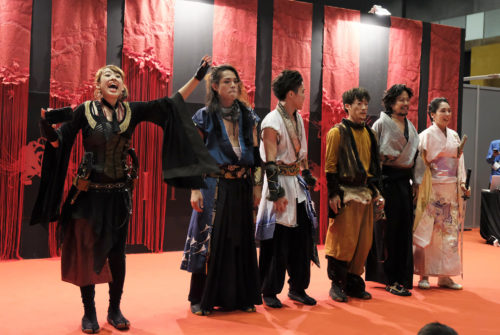 "20181106【Middle East Games Con/Traditional Cultures】Middle East Games Con 2018 In Abu Dhabi ""MIYABI"" 『刀屋壱-Katanaya Ichi-』Stage Report!"