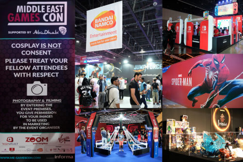 20181101【Middle East Games Con】Middle East Games Con 2018 in Abu Dhabi Report!