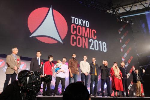 20181201【東京COMIC CON/Event Reports】「東京COMIC CON 2018」熱狂のオープニングセレモニー Report!