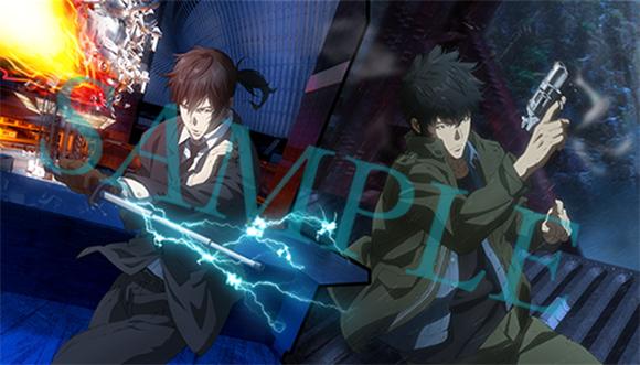 20190802【Press News/Anime】狡噛&宜野座の描き下ろし新作グッズ登場!『PSYCHO-PASS サイコパス Sinners of the System』 Blu-ray&DVD発売記念フェア開催決定!