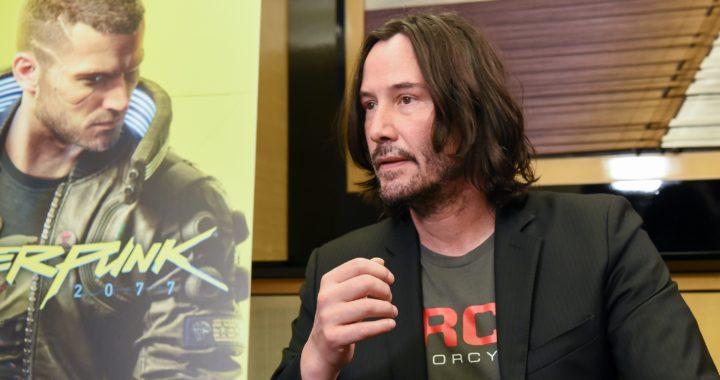 20190912【Press News/Game】2020年4月16日の発売まで約半年ジョニー・シルヴァーハンド役のキアヌ・リーブスさんがサプライズ来場!東京ゲームショウ2019『サイバーパンク2077』ブース
