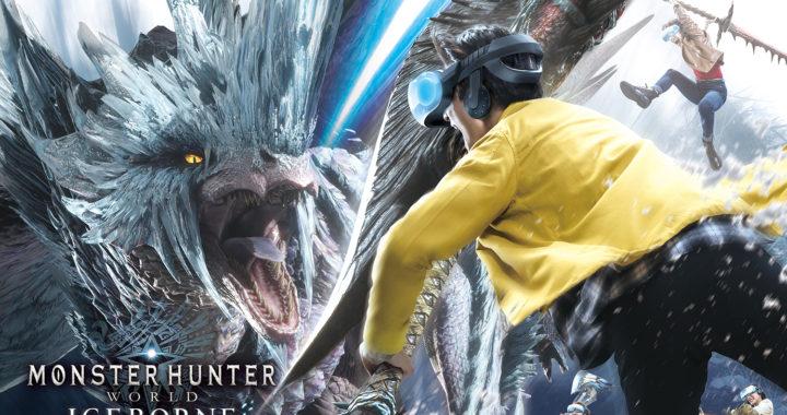 😆🥽20200109【Press News/Game】『ユニバーサル・クールジャパン 2020』にて、シリーズ初のVRアトラクション『モンスターハンターワールド:アイスボーン XR WALK』が2020年3月20日(金)より期間限定開催!
