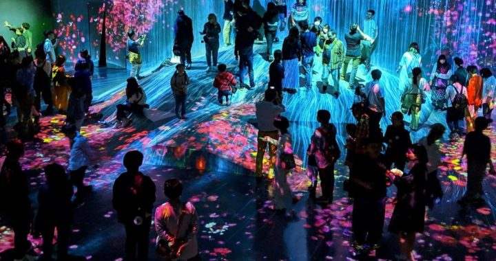 20190621【Press News/Digital Art】MORI Building DIGITAL ART MUSEUM: EPSON teamLab Borderless《オープン1周年》 世界160ヵ国以上から約230万人が来館